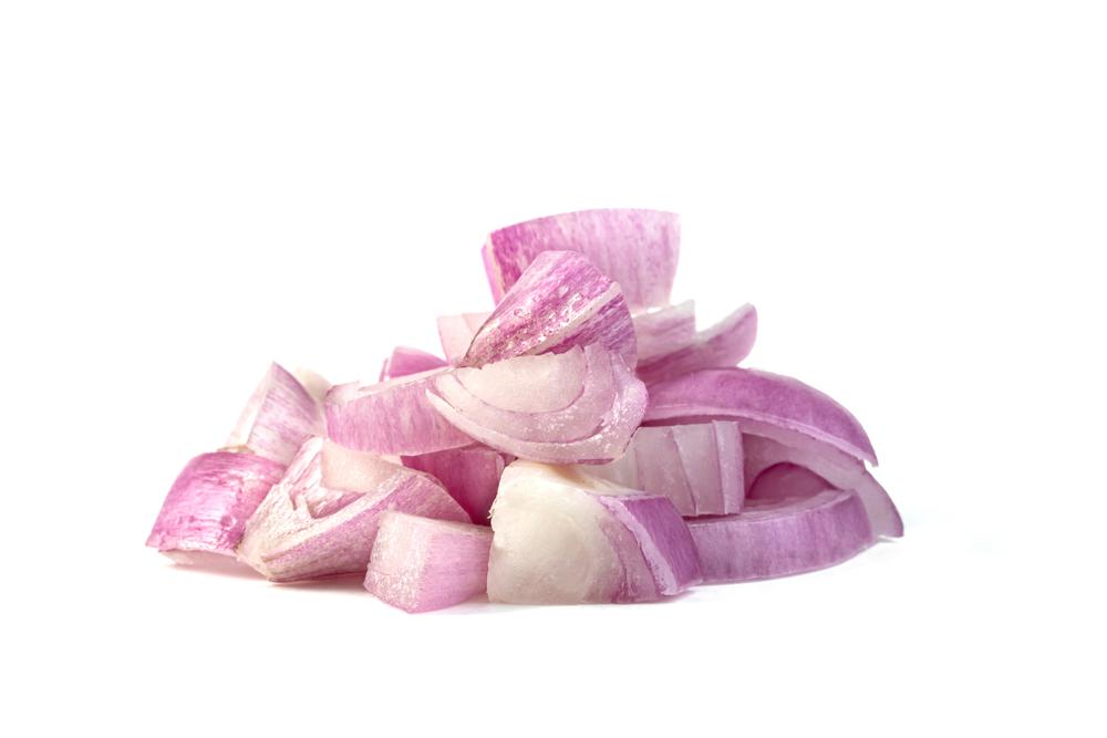 prepared onions